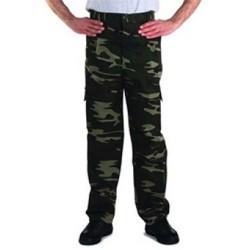 Gabardin Kamuflaj Komando Cepli iş Pantolonu GLK 4105