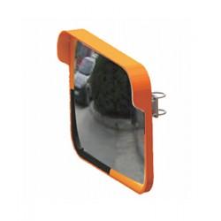 Evelux Trafik Güvenlik Aynası Kare 12248 TGA Sarı-siyah